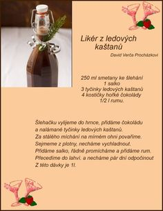 (168) Doručené – Seznam Email Christmas Candy, Christmas Baking, Pies Art, Healthy Drinks, Baking Recipes, Fondant, Smoothie, Food And Drink, Cocktails