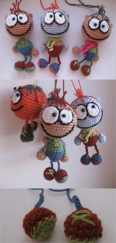 crochet toys and dolls Amigurumi Pattern Crochet Amigurumi Free Patterns, Crochet Baby Hats, Crochet Gifts, Crochet For Kids, Sewing Patterns Free, Free Crochet, Crochet Braids, Mandala Au Crochet, Crochet Doll Dress
