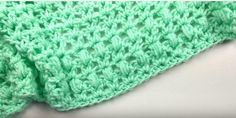 One Skein Mini Crochet Blanket Pattern. You can make a baby blanket with just one skein of yarn! This easy how to crochet video shows you how to hook a baby blanket quickly. Did you know you could make a mini crochet throw with just one skein of Red Baby Afghan Crochet Patterns, Easy Crochet Blanket, Crochet For Beginners Blanket, Beginner Crochet, Crochet Afghans, Baby Afghans, Crochet Books, Crochet Blankets, One Skein Crochet