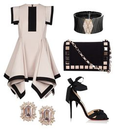 """""""Untitled #13"""" by doullie on Polyvore featuring Siobhan Molloy, Christian Louboutin, Roberto Demeglio and Tomasini"""