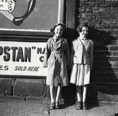 Pat Norman and friend, 1958 - Scotswood Road - Photography - Amber Online