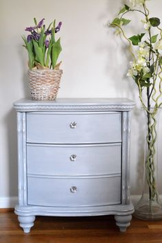 Giving a New Piece Charm - Nightstand Before and After