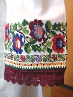 Ukraine, from Iryna Diy And Crafts, Arts And Crafts, Types Of Stitches, Ukraine, Cross Stitch, Costumes, Fashion Outfits, Embroidery, Crochet