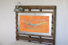 DIY PALLET HEADBOARDS IMAGES | ... to put one on Macy's pallet headboard , I knew I'd have to DIY it
