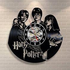 Amazon.com: Harry Potter Hermione Granger Movies Vinyl Record Clock Home Design Room Art Decor Handmade Vintage: Home & Kitchen