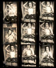 Frida Kahlo proof sheet frames by Julien Levy 1938 New York City
