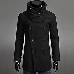 mannen+herfst+en+winter+sjaal+in+lange+double+breasted+trenchcoat+–+EUR+€+64.76