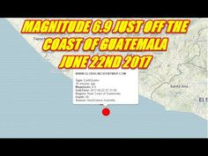 MAGNITUDE 6 9 JUST OFF THE COAST OF GUATEMALA TSUNAMI WARNING ISSUED