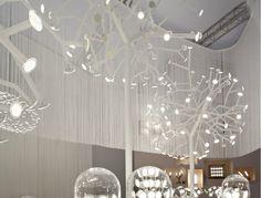 Floor lamp BLOSSOMS by BLACKBODY design Aldo Cibic