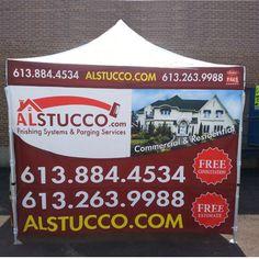 alstucco.com - Customized Canopy produced by Outlet Tags Canopies Ltd. / & alstucco.com - Customized Canopy produced by Outlet Tags Canopies ...