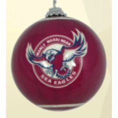 Manly xmas baubles
