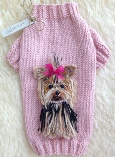 Yorkie Clothes, Yorkshire Terriers, Doggies, So Cute, Stricken, Knitting,  Pets, Friends