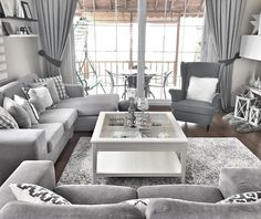 Most Beautiful Grey Living Room Decoration Ideas with Trendy Decor Check out tons of inspiring grey living room decoration ideas that will mesmerize you! Pick the best one and stye up your own living room now! Living Room Decor On A Budget, Living Room Grey, Home Living Room, Interior Design Living Room, Living Room Designs, Grey Living Room Furniture, Bedroom Furniture, Living Room Inspiration, Furniture Inspiration