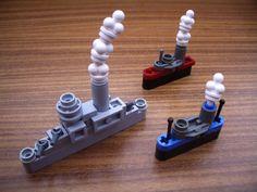 Micro steamship convoy, by Rod Gillies (aka 2 Much Caffeine).