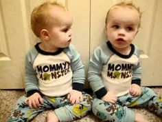 Sign language {Twins}: Twin Boys Talk and do Sign Language! (Rayden and Axten) Twin Boys, Twin Babies, Twins, Funny Babies, Funny Kids, Twin Humor, Celebrity Moms, Cute Gif, Sign Language