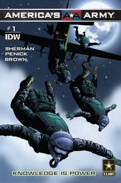 Check out America's Army #1: Knowledge Is Power on @comixology