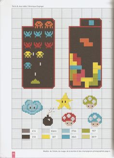 Phone Cross-Stitch Case Pattern