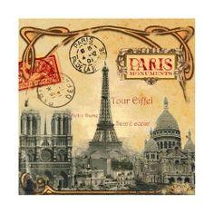 Parijs Monumenten | Vintage | Nostalgie & Brocante