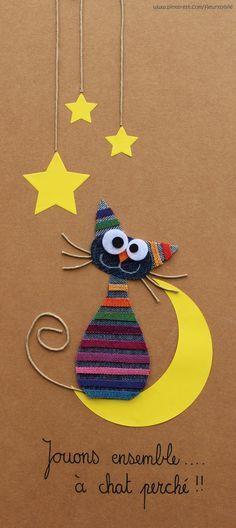Jouons à chat perché !! #jeans #recycle www.toutpetitrien.ch ou www.pinterest.com/fleurysylvie/mes-creas-la-collec/