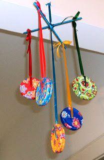Chica's artesanato reciclado: ARTESANATO com chita!
