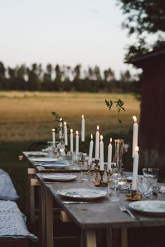 Beautiful Outdoor Dining : Savage Life Skills: Faith + Business and Vintage Skills : Gathering at the croft by Babes in Boyland