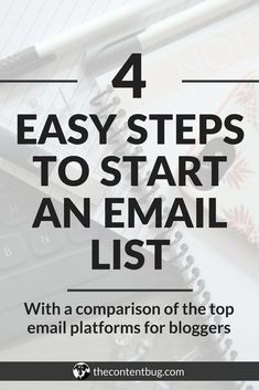 If you want to be successful online, then you need to have an email list! Learn everything you need to know on how to start an email list today! Email Marketing Strategy, E-mail Marketing, Online Marketing, Digital Marketing, Affiliate Marketing, Content Marketing, Internet Marketing, Branding, Blogging