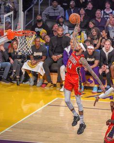 "New Orleans Pelicans on Instagram: ""Wayyy up 📈"" Brandon Ingram, New Orleans Pelicans, Nba Stars, Crescent City, Detroit Pistons, Nba Players, Best Player, Lebron James, Michael Jordan"
