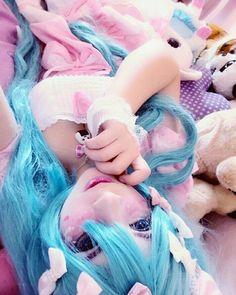 Miku decora cosplay