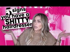 Here are 5 signs you have a bad hairdresser, I constantly get asked what to look for in picking a hairdresser so I figured telling you about the warning sign. Ash Blonde Hair, Blonde Balayage, Brunette Hair, Sleeping With Wet Hair, Medium Hair Styles, Short Hair Styles, Beauty Skin, Hair Beauty, Perfect Bangs