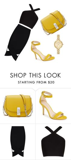 """""""Untitled #127"""" by amrabasic ❤ liked on Polyvore featuring Pelle Moda, Boohoo, BCBGMAXAZRIA and Kate Spade"""