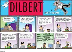 Dilbert, by Bill Adams