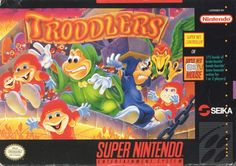 Image result for Troddlers snes box