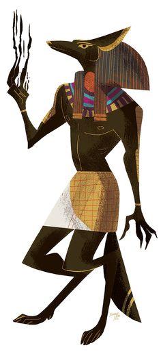 アヌビスかっこいーreimenaashelyee: Anubis