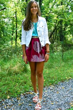 seafan circle skirt on RORY via wearaboutsblog