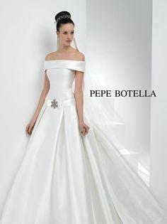 Abito scollo barchetta Pepe Botella