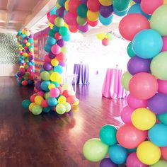Candy Land kids party | @whitepeacockstyle White Peacock Events |  candyland goldies5. goldieland. balloonarch. balloons
