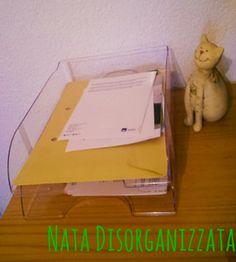 porta documenti per carte in attesa di archiviazione
