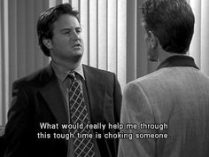 It's not your fault you're cynical and hate everyone: | Community Post: 44 Reasons Why You're Chandler Bing