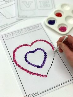 Who Loves February Morning Work? And You Should, Too Who Loves February Morning Work? Stress-Free Valentine's Day Fun Stations (A Differentiated Kindergarten) Arts And Crafts Style House Every teacher wants a stress-free holiday party. Check out these e Valentine's Day Crafts For Kids, Valentine Crafts For Kids, Valentines Diy, Art For Kids, Children Crafts, Valentines Day Activities, Craft Activities, Preschool Crafts, Toddler Activities