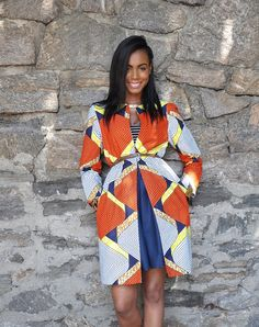 The Elizabeth Jacket by CHENBURKETTNY on Etsy ~Latest African Fashion, African women dresses, African Prints, African clothing jackets, skirts, short dresses, African men's fashion, children's fashion, African bags, African shoes ~DK