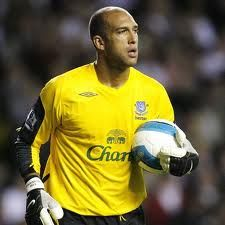 tim howard..US MNT keeper and Everton Keeper..so good