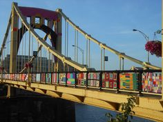 more KNIT THE BRIDGE........beautiful pics in this blog!!!!!!