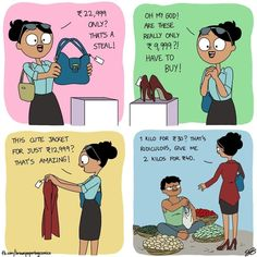 Indian Illustrator Captures What It's Like Growing Up In An Indian Family - World's largest collection of cat memes and other animals Funny Statuses, Funny Relatable Memes, Funny Facts, Funny Jokes, Hilarious, Cartoon Memes, Funny Cartoons, Funny Comics, Cat Memes