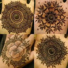 Palm mehendi designs