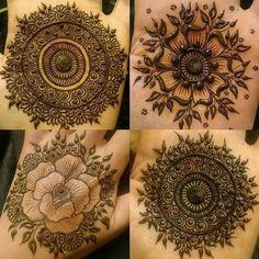 Palm mehendi designs