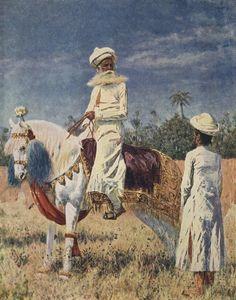 Всадник в Джайпуре. Верещагин. Картина, фото, фотография