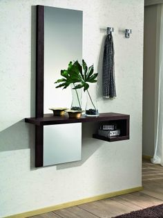 Awesome ideas for decorating the hallway with modern wall mirror designs, home interior wall mirror decor ideas for modern style apartments 2019 Hall Furniture, Home Decor Furniture, Furniture Design, Furniture Online, Hallway Decorating, Entryway Decor, Wall Decor, Interior Design Living Room, Living Room Decor
