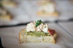 A Beautiful Day for a Wedding: Jill & Brian's Big Day #wedding #events #catering #alabama Catering Menu, Catering Services, Wedding Catering, Food Menu, Wedding Events, Catering Recipes, Catering Events, Tortellini Skewers, Mini Crab Cakes