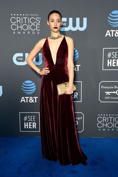 cda7ba819201 Emmy Rossum In Ralph Lauren - 2019 Critics  Choice Awards. Laura  HarrierChoice FashionEmmy RossumRed Carpet ...