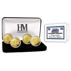 New York Giants Super Bowl Champions Collector Coin Set - $99.99